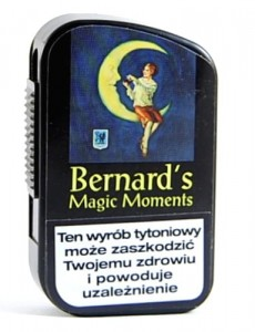 #Tabaka Bernard Magic Moments Black 10g