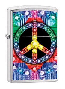 Zapalniczka Zippo Gamed Peace Sign 60002727
