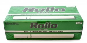 Gilzy Rollo Green Menthol Ultra Slim 200