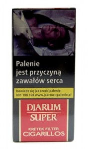 #Cygaretka Djarum Super Filter 10 szt